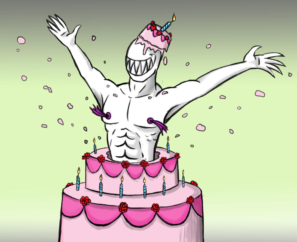 Smexy Cake by arcanineryu