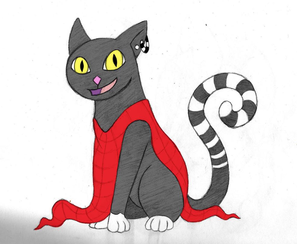 Lydia Cat by arcanineryu