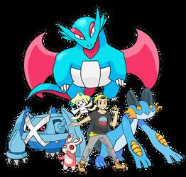 Pokemon Trainer Request Shredderdx7 by arcanineryu