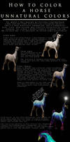 Unnatural Horse Colors