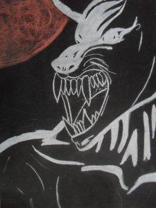 Chalk Wolf XxX by WhiteWolfEm
