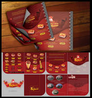 CIKA Menu Design by m-maher