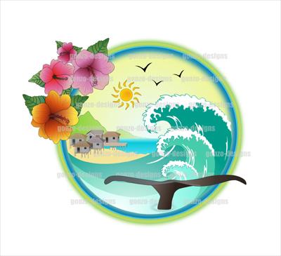 Beach Resort Logo Design Beach Resort Logo Design Beach