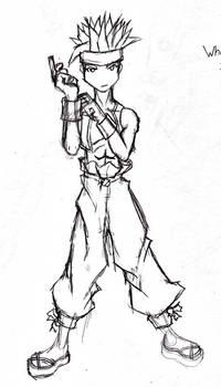 Final Fantasy Tactics Monk