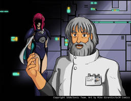 Phantasy Star IV Meet Rika by Gx3RComics