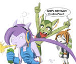 Freedom Planet 1 year old!? Rushed fanart Go go!