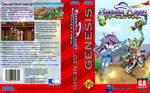 Freedom Planet SEGA Genesis boxart