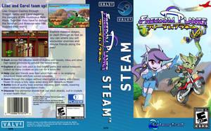 Freedom Planet Steam boxart variant by Gx3RComics