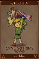 STOOPID Zelda by Gx3RComics