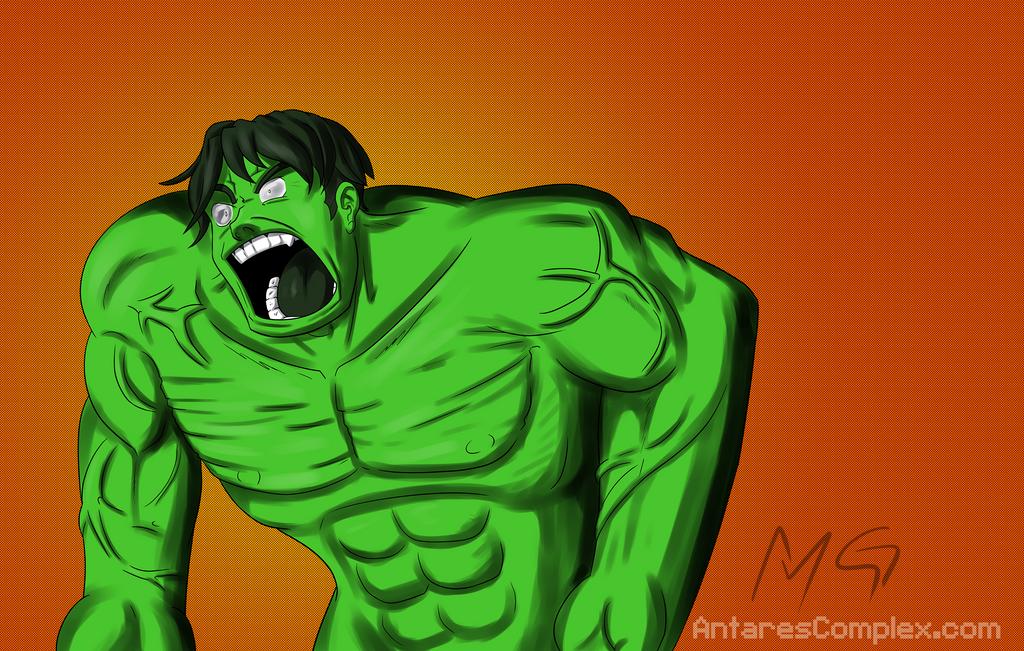 Rando Hulk by Gx3RComics