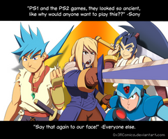 Who would want to play Playstation Classics!? by Gx3RComics