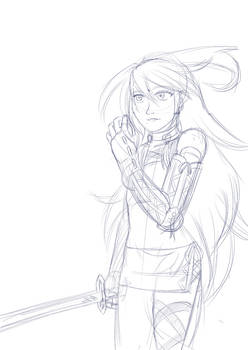 Old Milla doodle from...I don't know when!