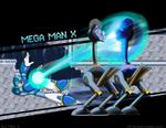 Platformer RUN: Mega Man X obliterates ostrich
