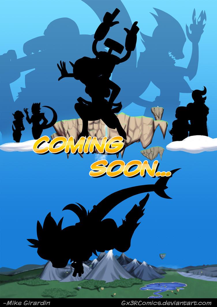 Coming SOOOOOOON. by Gx3RComics