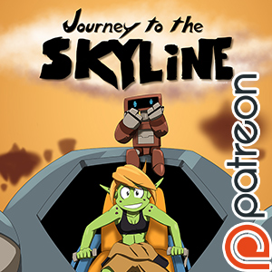 Early access launch Journey to the Skyline by Gx3RComics