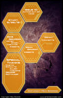 Issue 10 credits by Gx3RComics