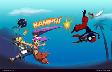 Shantae WHIP by Gx3RComics
