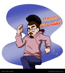 Happy (early) Birthday Lu by Gx3RComics