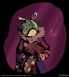 Fanart FRENDEN's Frog Guy. . . Thing. by Gx3RComics
