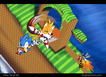 Sonic and Tails by Gx3RComics