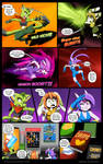 Freedom Planet Comic Snack troubles