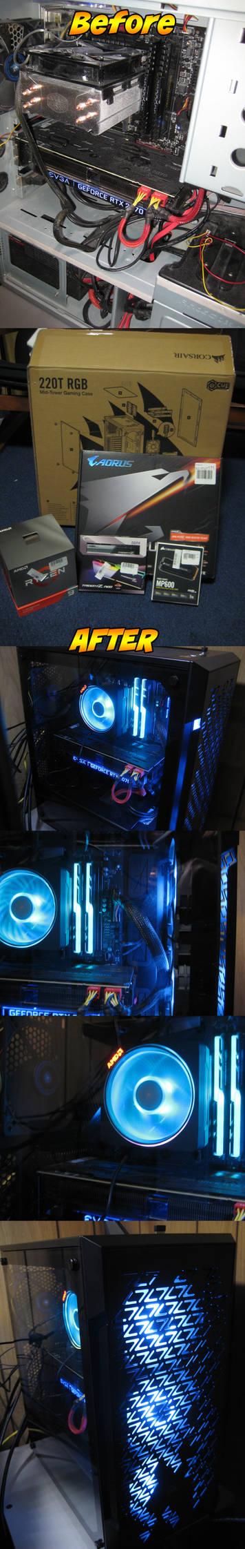PC upgrade 2020 edition!