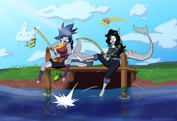 Fishing day a commission