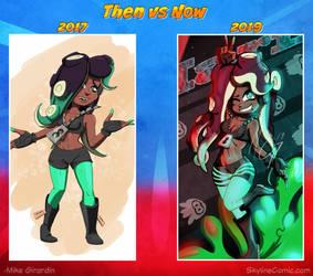 Then vs Now Marina