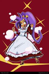 Shantae maid commission