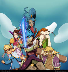 Breath of Fire 4 cast and SHIRT