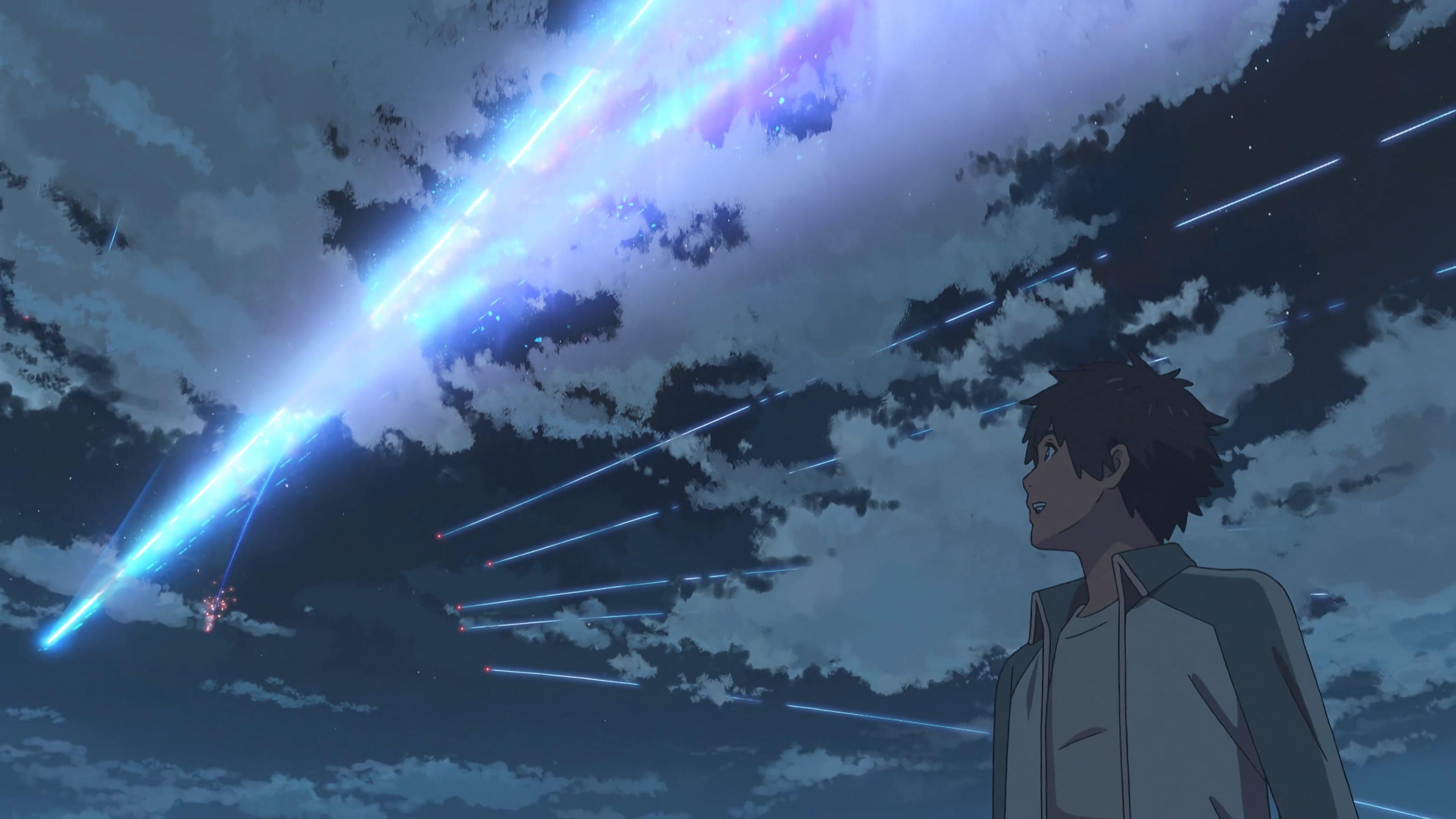 Oc Kimi No Na Wa Your Name Meteor Taki 4k By Total Chuck On