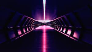 [OC] Synthwave - Aesthetic Corridor - 4k