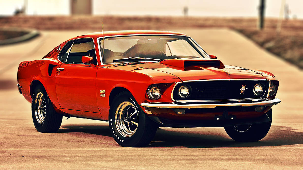 Oc 1969 Ford Mustang Boss 429 Wallpaper By Total Chuck On