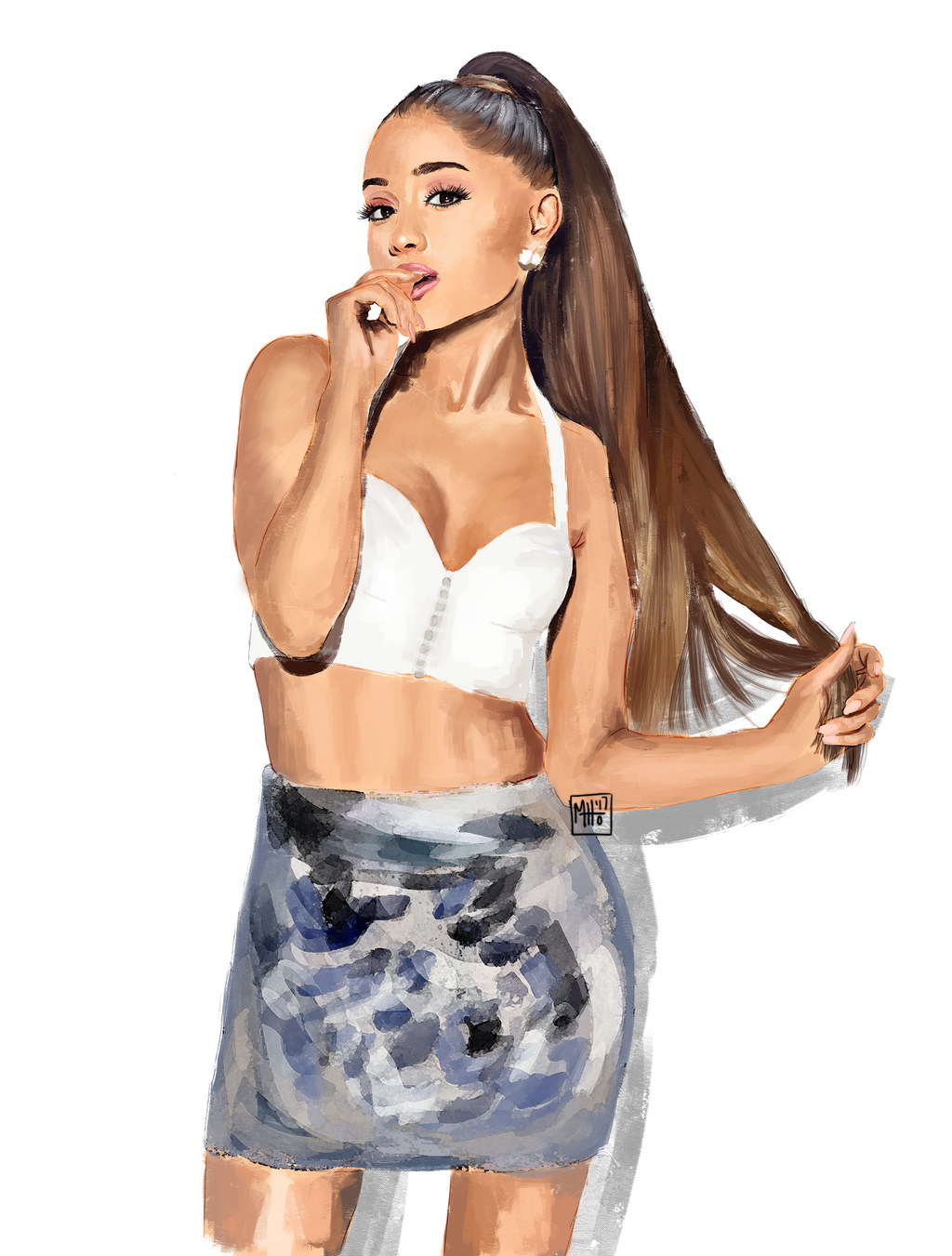 Ariana grande by SHAKEitup1 on DeviantArt