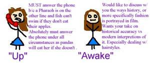Up vs Awake