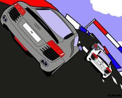 Audi R8 by sjkeri