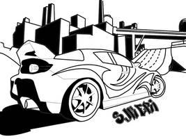 Street Racing by sjkeri