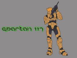Spartan 117 by sjkeri