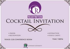 Redefinition Cocktail Invite by sjkeri