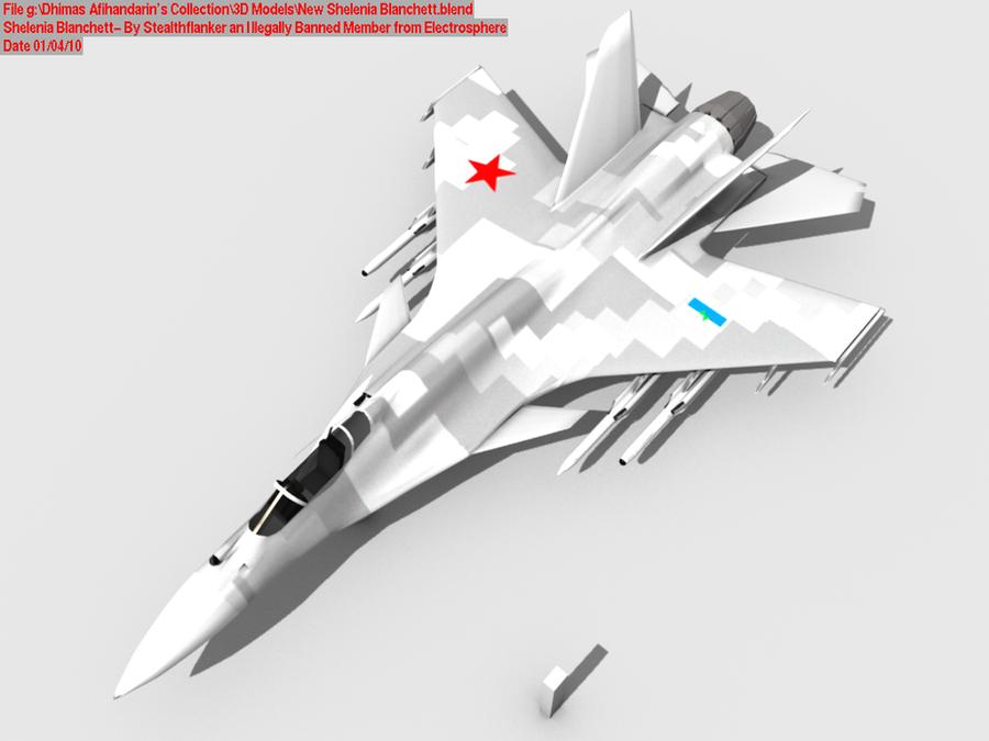 Concept n_n - Page 2 Shelenia_Blanchett_Standard_by_Stealthflanker