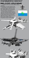 Belinda Hawkeye Compound Aircraft