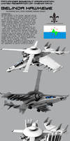 Belinda Hawkeye Compound Aircraft by Stealthflanker