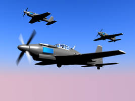 Gallian Gladiators in Flight by Stealthflanker