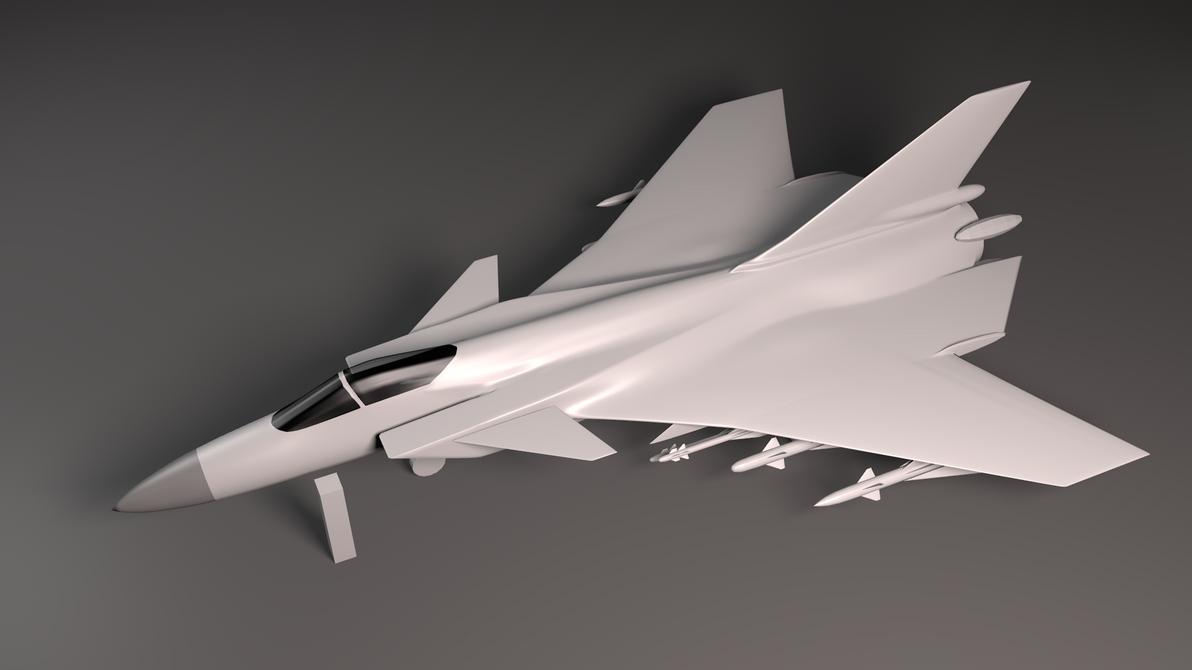 Idamaria Frey Frontline Interceptor-WIP. by Stealthflanker