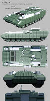 Alicia-Frontline Infantry Fighting Vehicle WIP. by Stealthflanker