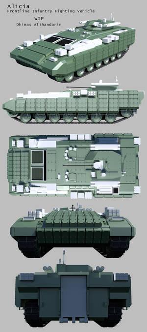 Alicia-Frontline Infantry Fighting Vehicle WIP.
