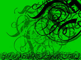 Green Background by Heffer13