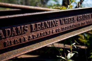 Adams Leaning Wheel Grader
