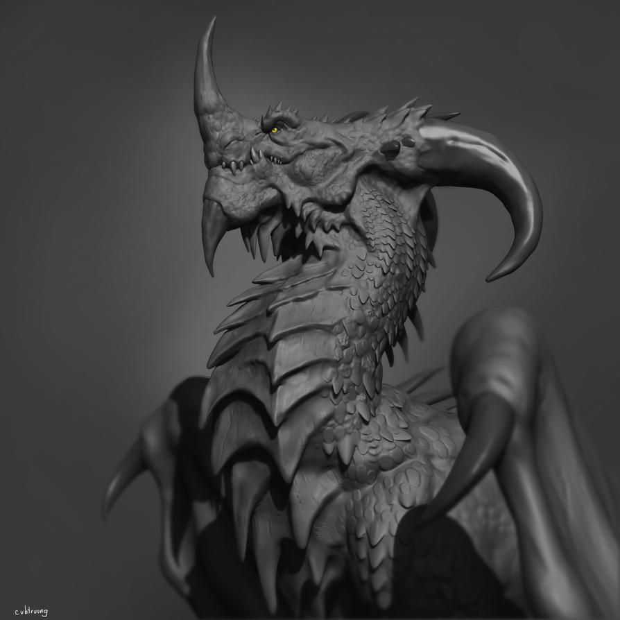 Dragon by cvbtruong
