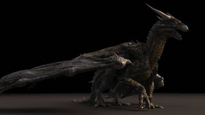 Flying Stone Dragon